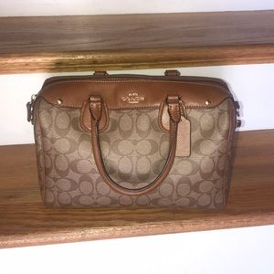 Coach Satchel with strap